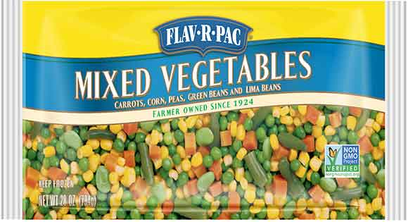 Flav-R-Pac Frozen Vegetables