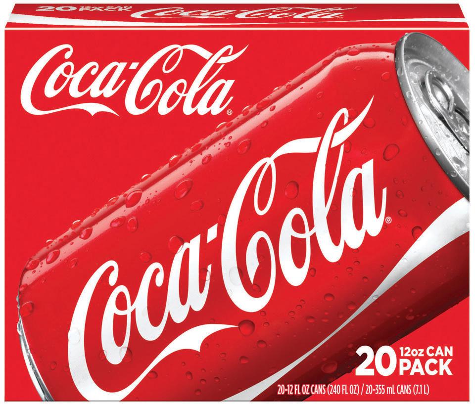 Coca Cola 20-Packs