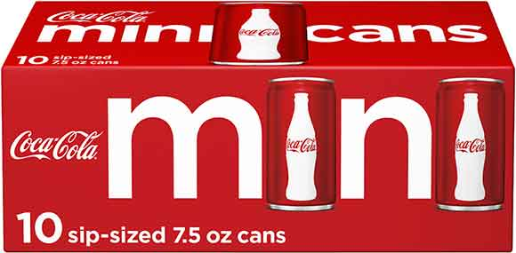 Coca-Cola Mini 10-Packs