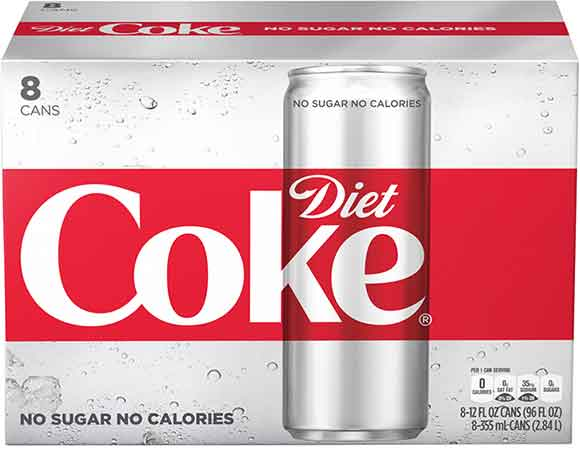 Diet Coke 8-Packs