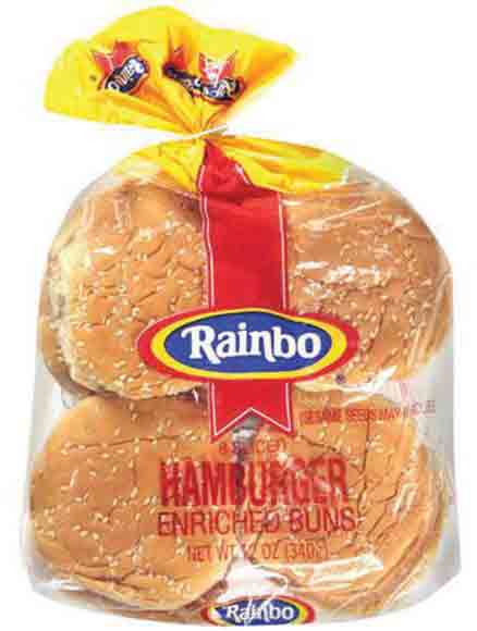 Ballpark or Rainbo Hamburger or Hot Dog Buns