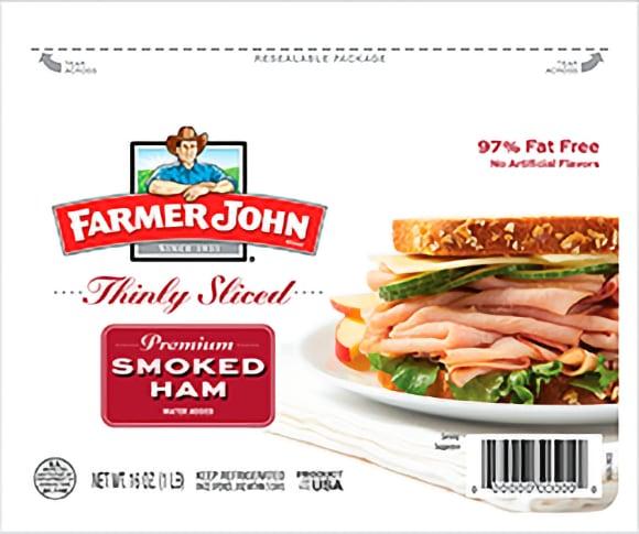 Farmer John Roasted Turkey or Smoked Ham Pillow Packs