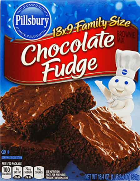 Pillsbury Family Size Brownie Mixes