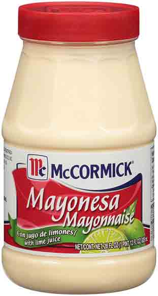 McCormick Mayonnaise with LimeJuice