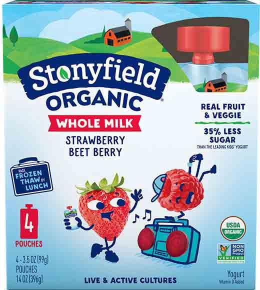 Stonyfield Kids YogurtPouches