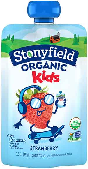 Stonyfield Organic Kids Yogurt
