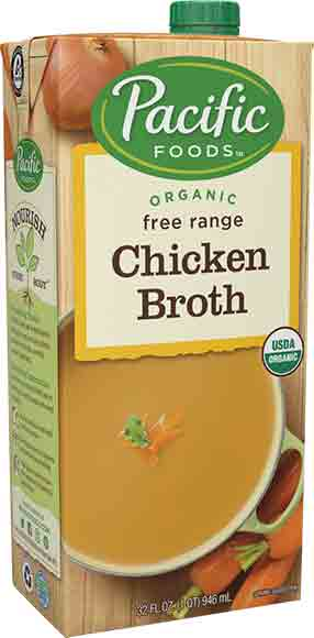 Pacific Foods Organic Broths orSoups