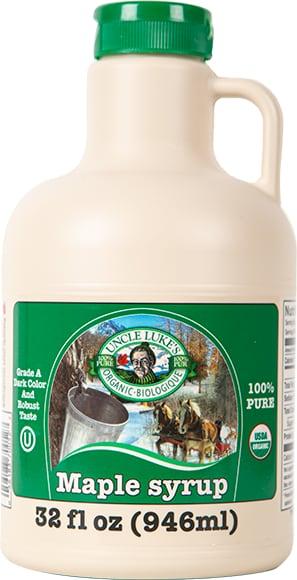 Uncle Luke's Organic Maple Syrup