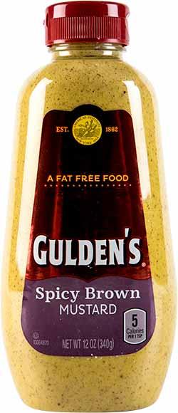 Gulden Squeeze Brown Mustard