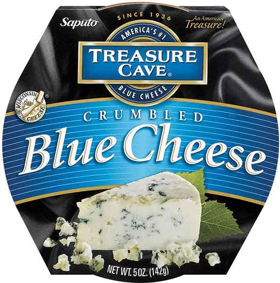 Treasure Cave Crumbled Blue or Gorgonzola Cheese