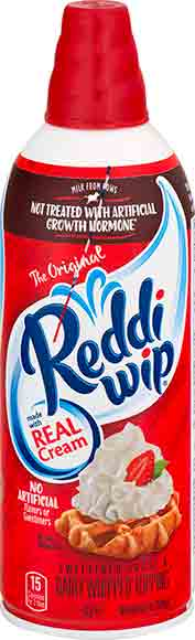 Reddi Whip Real Cream Topping
