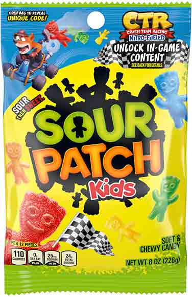 Sour Patch Kids or Swedish Fish