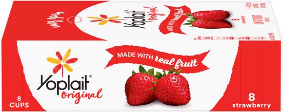 Yoplait Yogurt 8 Packs