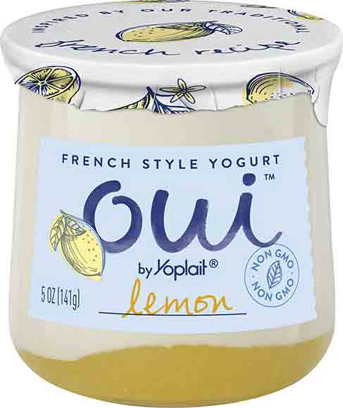 Yoplait Oui French Style Yogurt