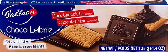 Bahlsen Dark Chocolate Leibniz