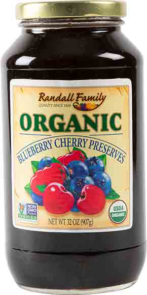 Randall Family Organic Fruit Preserves