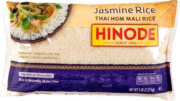 Hinode Brown, Hapa Blend Or Jasmine Rice