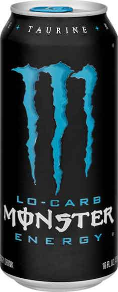 Monster Zero Energy Drinks