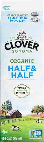 Clover Organic Half & Half