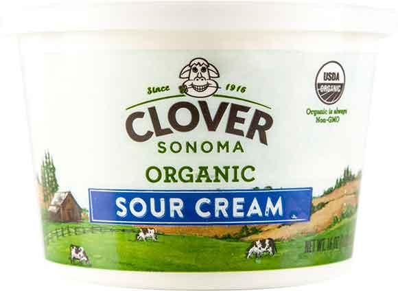 Clover Sonoma Organic Sour Cream