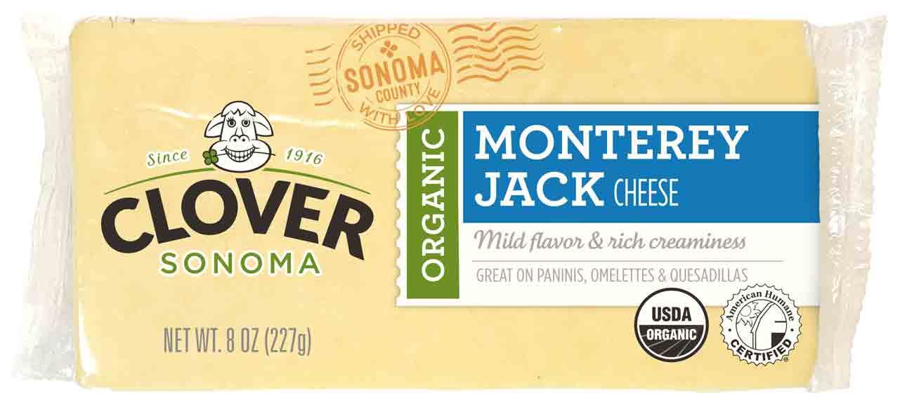 Clover Sonoma Organic Sliced, Shredded, or Block Cheese