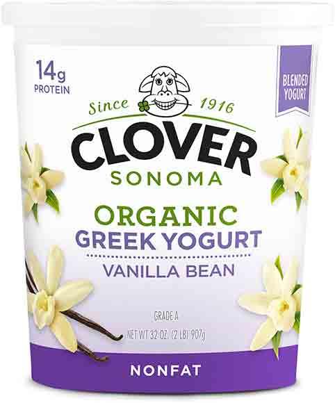 Clover Sonoma Organic Nonfat Greek Yogurt