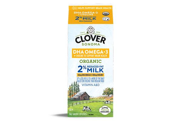Clover Sonoma Omega-3 Milk