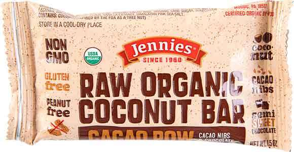 Jennie's Raw Organic Bars