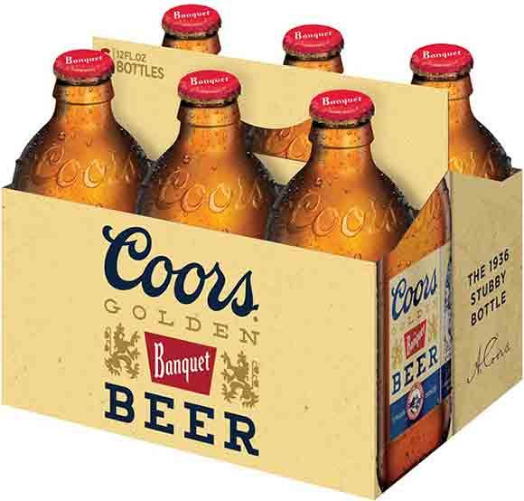 Coors 6-Packs
