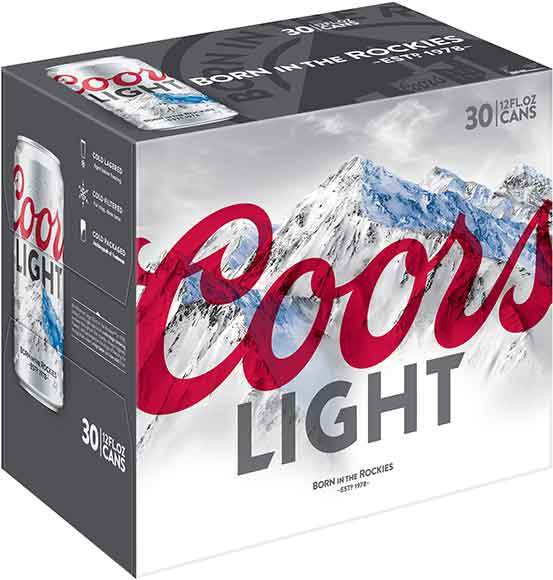 Coors Light 30 Packs