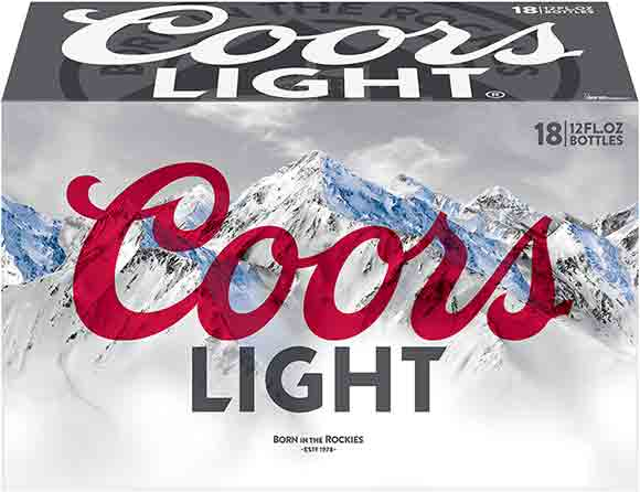 Coors Light 18 Packs