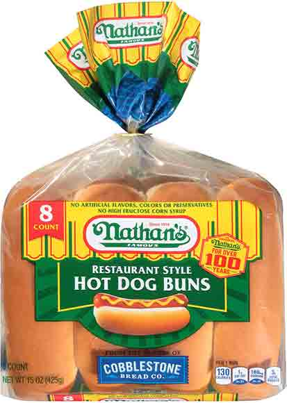 Nathan's Hot Dog Buns