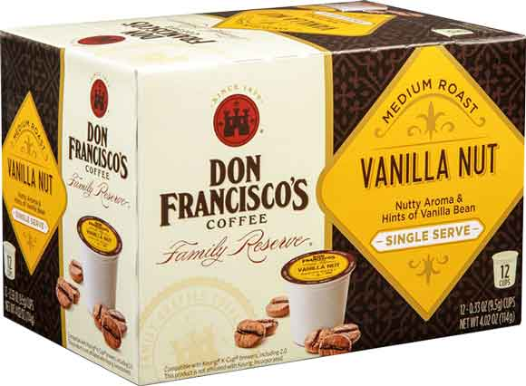 Don Francisco K-Cup Coffee