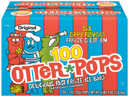 Otter Pops Freeze Bars
