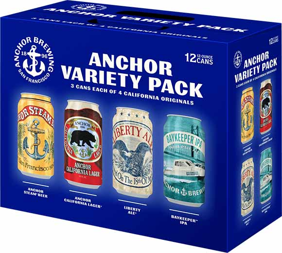 Anchor Brewing Variety 12-Pack