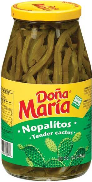 Doña María Nopalitos