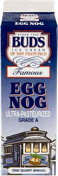 Buds Eggnog Quart