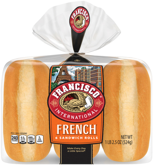 Francisco French Rolls