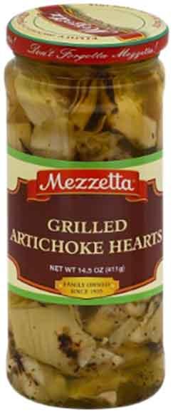 Mezzetta Capers or Grilled Artichoke Hearts