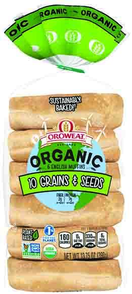 Oroweat Organic English Muffins