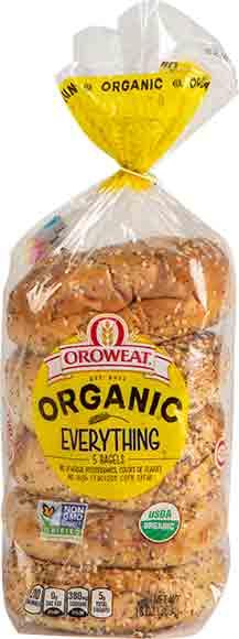 Oroweat Organic Bagels