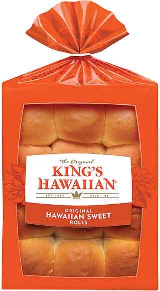 King's Hawaiian Rolls or Hamburger Buns