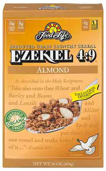 Food For Life Ezekiel 4:9 Flax Cereal