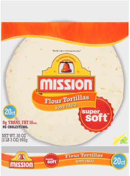 Mission Soft Taco Tortillas