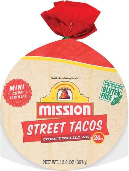 Mission Street Tacos Mini Corn Or Flour Tortillas