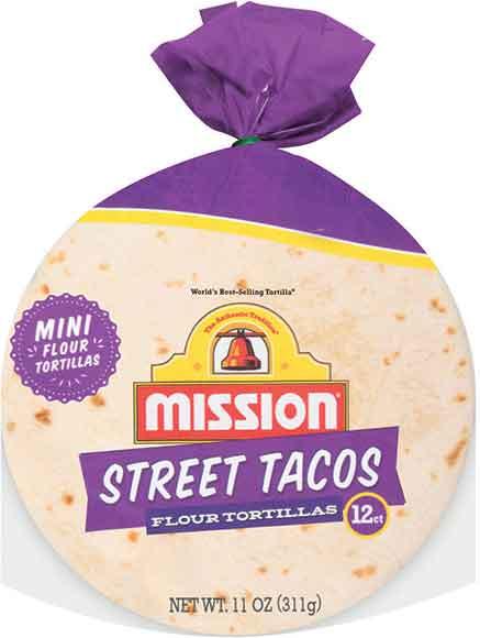 Mission Street Taco Mini Corn Or Flour Tortillas