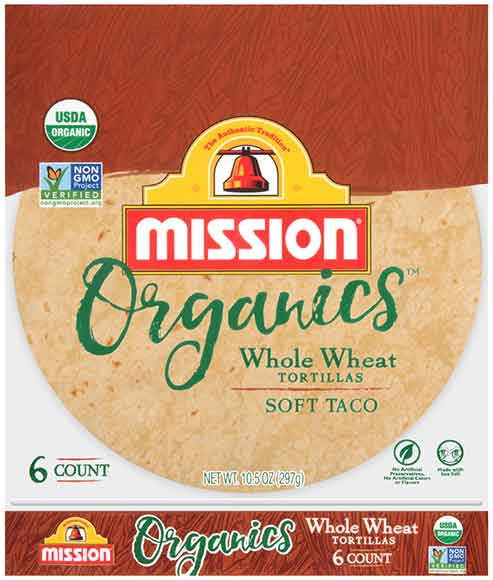 Mission Organic Tortillas