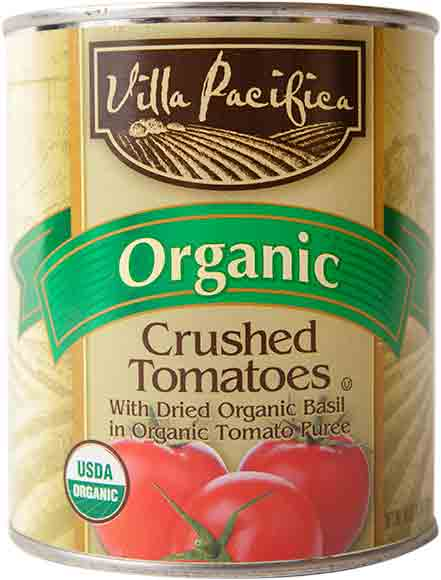 Villa Pacifica Organic Canned Tomatoes