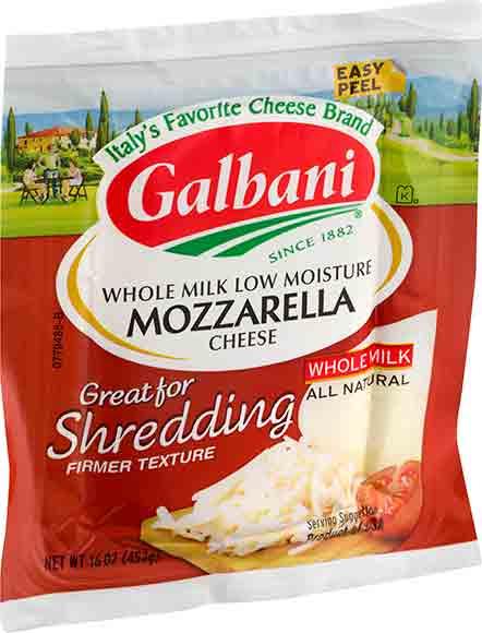 Galbani Mozzarella or Ricotta Cheese