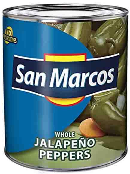 San Marcos Whole Jalapeños
